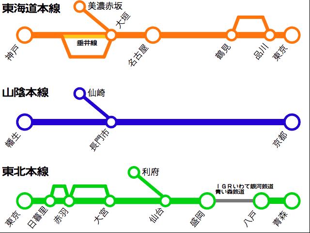 山陰本線の長門市-仙崎間を ...